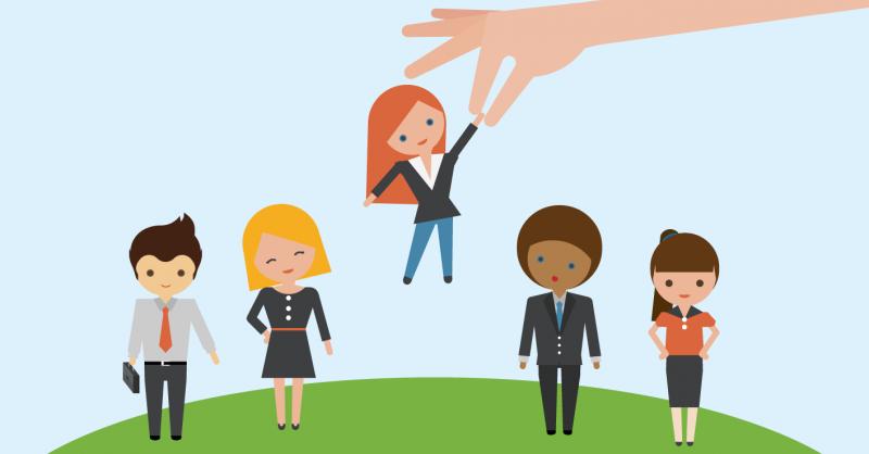 Utiliza LinkedIn para empresas para facilitar los procesos de selección.