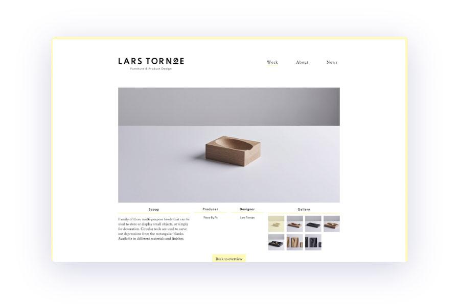 diseño web minimalista 2019