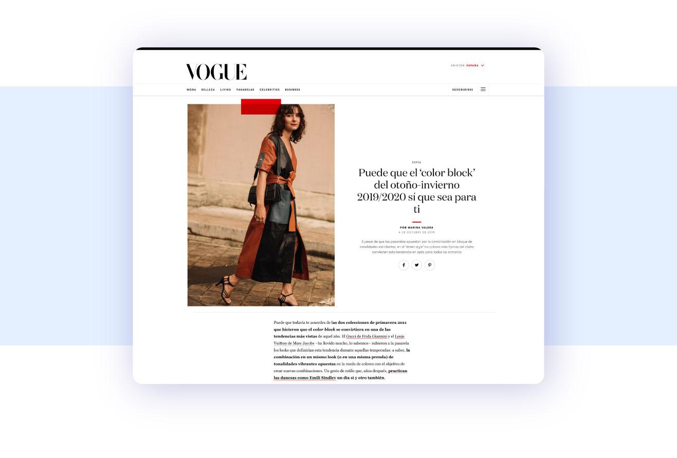 ejemplo tipografia con serifa en diseño web