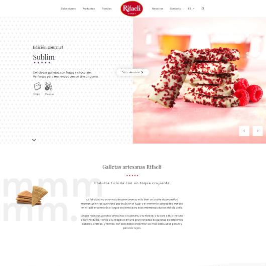 diseño catálogo online