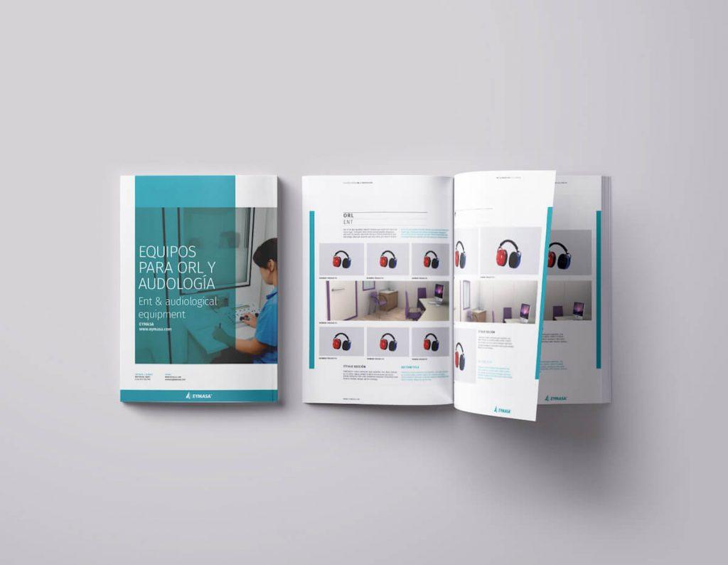 disseny catàlegs de productes