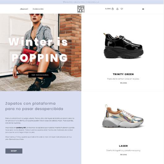 disseny botigues online barcelona