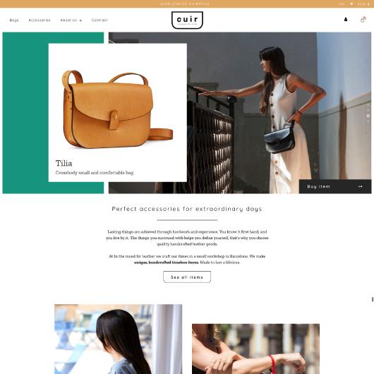 disseny botigues online