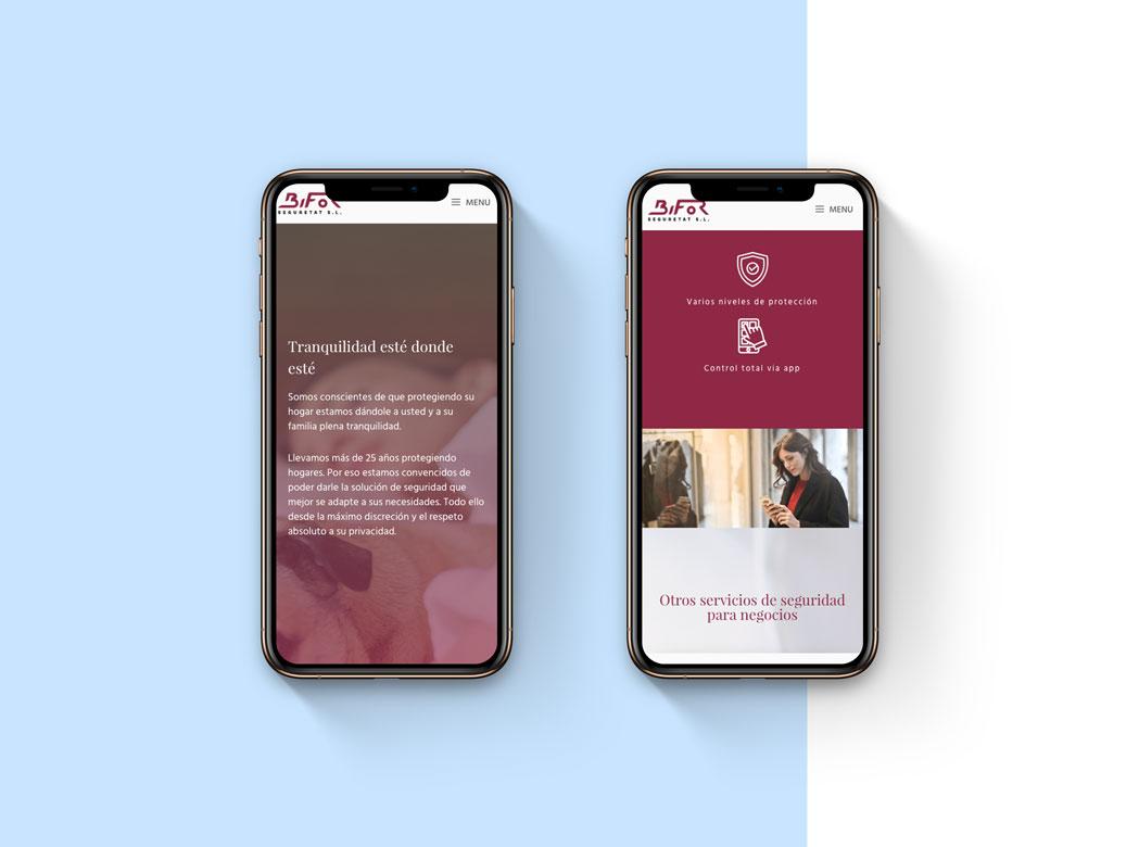 diseño web corporativa responsive