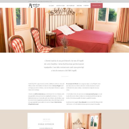 disseny web corporatiu exemple 3