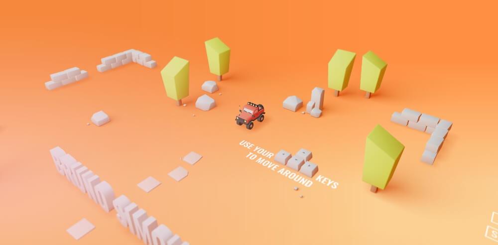 tendencias en diseño web para 2020: 3D