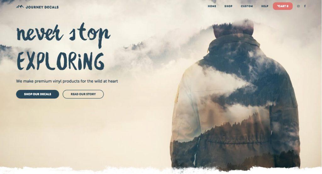 tendencias en diseño web para 2020: retoque de fotografía con diseño gráfico